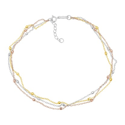 just-gold-triple-strand-beaded-anklet-in-14k-three-tone-gold