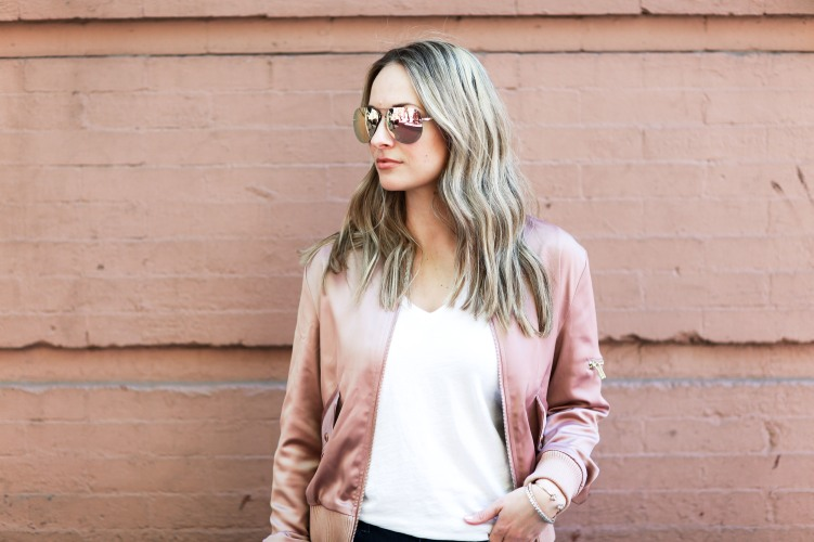 750 px rose gold sunglasses